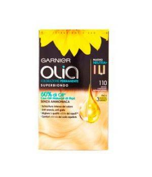 Olia Colorazione Permanente Superbiondo 110 biondo Chiarissimo Naturale Intenso