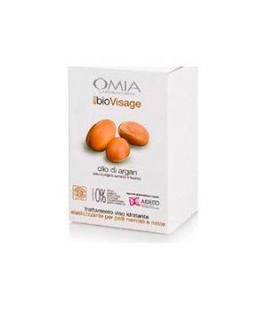 Cofanetto Ecobio Visage Essential Olio di Argan - Crema Viso 75 ml + Salviette Struccanti Argan 25 XLarge pz + Pochette Cotone