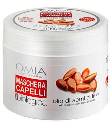 Maschera Capelli Olio di Semi di Lino 250 ml