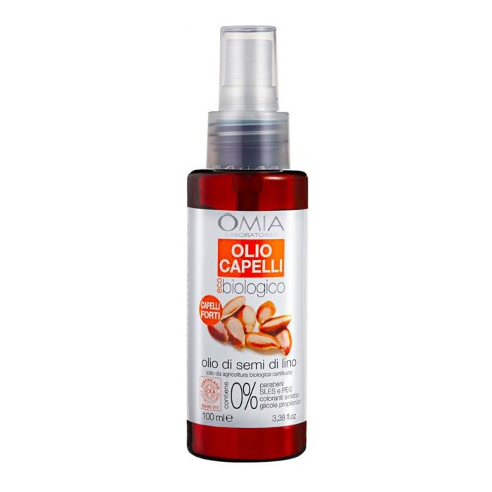 Olio Capelli Olio di Semi di Lino 100 ml - Idea Bellezza