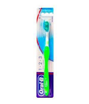Spazzolino Da Denti Manuale Effetto Lucidante 123 Shiny Clean Robin Hood Setole Medie Testina 40Mm