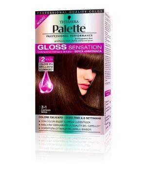Palette Gloss Sensation - Colorazione per Capelli 3-1 Castano Moka