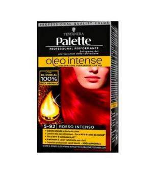 Palette Oleo Intense - Colorazione Permanente con Oli 5-92 Rosso Intenso