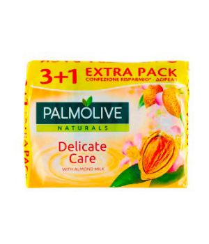 Sapone Solido Delicate Care con Latte di Mandorla 4 x 90 g