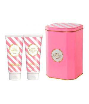 Cofanetto Miss Princess Small Confetti di Zucchero - Latte Doccia Profumato 200 ml + Crema Fluida Frofumata 200 ml