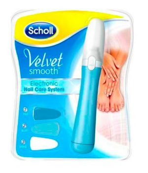 Velvet Smooth Electronic Nail Care System - Kit Elettronico per la Cura delle Unghie