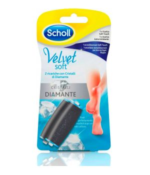 Velvet Soft Cristalli di Diamante1 Ricarica Soft Touch + 1 Ricarica Extra Esfoliante