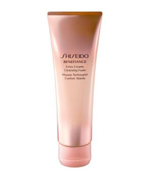 Benefiance WrinkleResist24 Extra Creamy Cleansing Foam - Detergente anti-età 125 ml