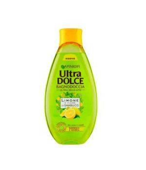 Ultra Dolce Limone e Fiore di Sambuco - Bagnodoccia Ultra Delicato per Corpo e Capelli 500 ml