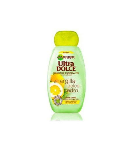 Ultra dolce Shampoo Purificante all'Argilla Dolce e Cedro 250 ml