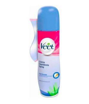 Crema Depilatoria Spray  Pelli Sensibili 150 ml