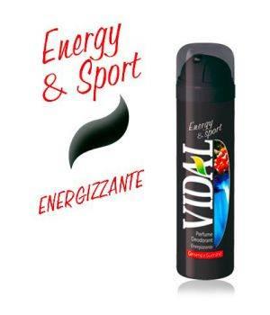 Deodorante Energizzante Energy & Sport  Spray Da 150 Ml