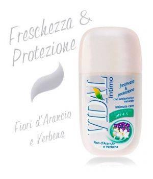 Detergente Intimo Con Antibatterico Naturale Fiori D'Arancio E Verbena 250 Ml