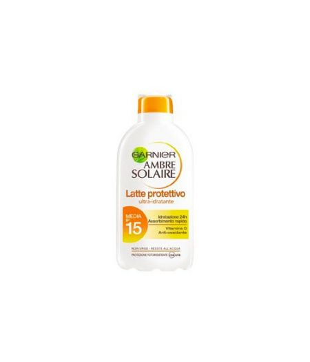 Ambre Solaire Latte Protettivo Ultra-Idratante  SPF15 200 ml