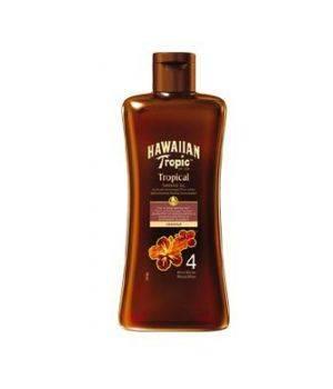Tropical Tanning Oil SPF 4 - Olio Protezione Solare Bassa 200 ml