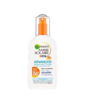 Ambre Solaire Latte Advanced Sensitive Bambini SPF 50+ Spray 200 ml