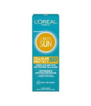 Sublime Sun  Cellular Protect Crema Solare Viso SPF 50+ 75 ml