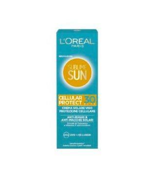 Sublime Sun  Cellular Protect Crema Solare Viso SPF 30 75 ml