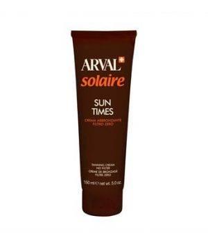 Solaire Sun Time Crema Abbronzante Filtro Zero 150 ml