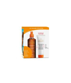 Cofanetto Olio Secco Superabbronzante Idratante Water Resistant 200 ml + IN REGALO Balsamo Doposole Idratante Restitutivo 100 ml