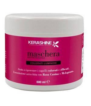Maschera uso professionale - capelli colorati luminosi 500 ml