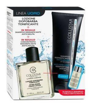 Lozione dopobarba tonificante 100 ml + shampoo anticaduta + fiala anticaduta
