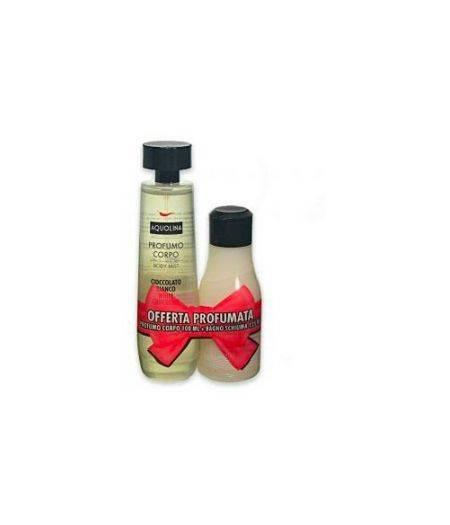 Profumo Corpo 100 ml + Bagnoschiuma 125 ml al Cioccolato Bianco