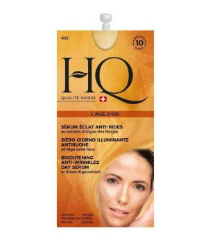HQ Siero viso illuminante antirughe all'alga delle nevi 15 ml