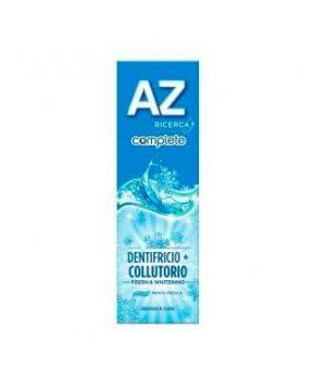 Dentifricio + Collutorio AZ Complete Fresh & Whitening 75 ml