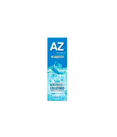 Dentifricio + Collutorio AZ Complete Fresh & Whitening 75 ml