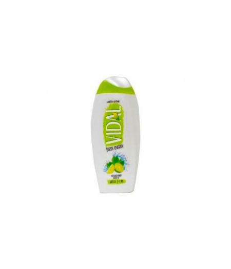 Vidal Fresh Energy Doccia Schiuma menta e lime 250 ml Limited Edition