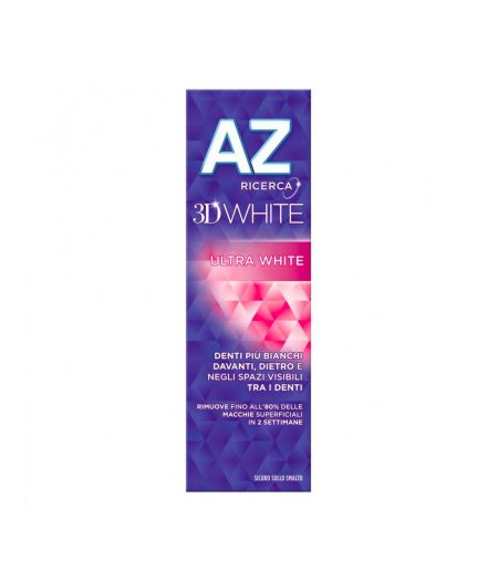 Az Dentifricio 3D White Ultra White 65 + 10 ml.