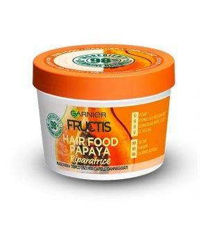 Maschera capelli danneggiati riparatrice Garnier Fructis Hair Food Papaya