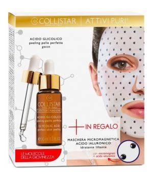 Attivi Puri Acido Glicolico Peeling Pelle Perfetta + Maschera ialuronico