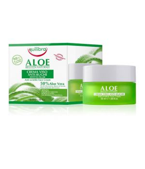 Aloe Crema Viso Anti-Rughe Effetto Filler 50 ml