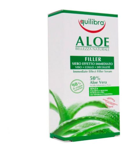 Aloe Filler Siero Effetto Immediato Viso - Collo - Décolleté 20 ml