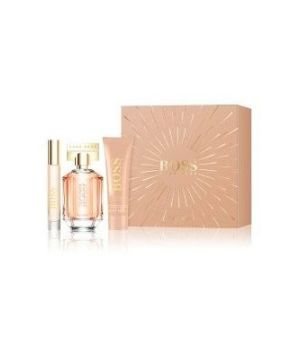 The Scent Eau de Parfum 50 ml + Body Lotion 50 ml + Rollerball7,4 ml