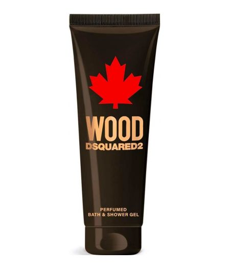 Wood pour Homme – Perfumed Bath & Shower Gel 250 ml