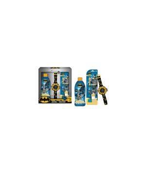 Batman cofanetto docciashampoo Blue Energy 250 ML + spazzolino con dentifricio 25 ML + proiettore da polso