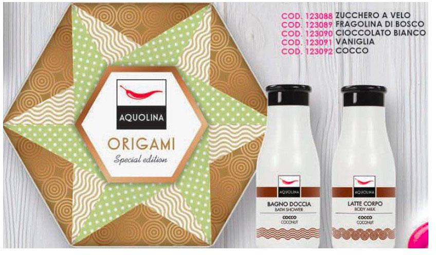 Bagno Doccia Crema Aquolina : Origami zucchero a velo latte corpo ml bagnodoccia ml