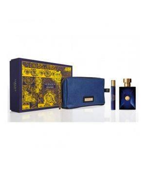 Dylan Blue Pour Homme cofanetto - Eau de toilette 100 ml + Dylan Blue Pour Homme eau de toilette 10 ml + Blue Trousse