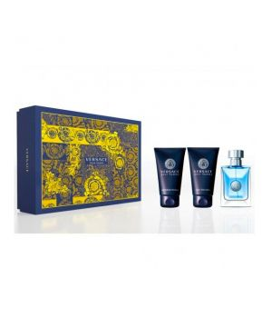 Versace Pour Femme cofanetto - Eau de toilette 30 ml + Hair & Body Shampoo 50 ml + Aftershave Balm 50 ml