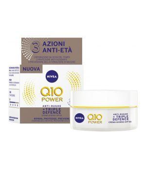Crema Antirughe Q10 Triple Defence SPF30 50 ml