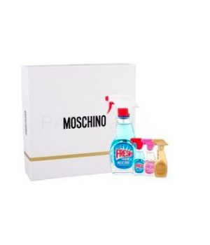Moschino Fresh Couture Set REGALO KIT eau de toilette 50 ml + eau de toilette 5 ml + eau de toilette Pink 5 ml + eau de parfum Gold 5 ml