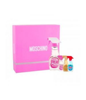 Moschino Cofanetto Regalo Kit Fresh Couture Pink Eau De Toilette Donna 50ml + Miniature Edt
