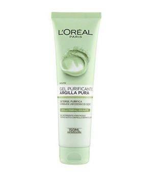 Argilla Pura - Gel Purificante, deterge la pelle e riduce l'eccesso di sebo 150 ml