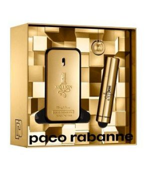Confezione 1 Million Eau de Toilette 50 ml + Travel size 10 ml + Portachiavi