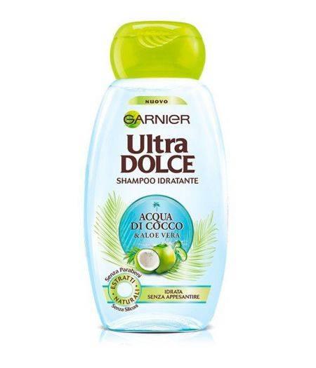 Ultra Dolce Acqua di Cocco e Aloe Vera Shampoo idratante 300 ml