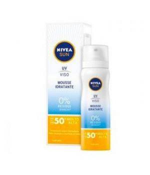 Nivea Solare Mousse Viso Idratante SPF 50+ 75 ml