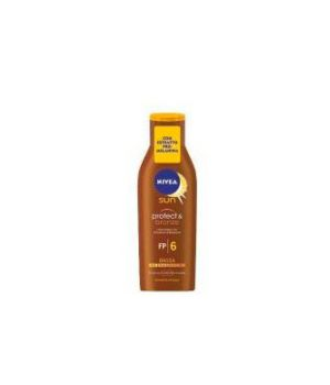 Nivea Latte Solare Protect & Bronze SPF 6 200 ml